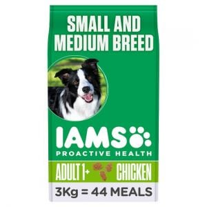 Iams Sml, Medium Dry Dog Food 3kg
