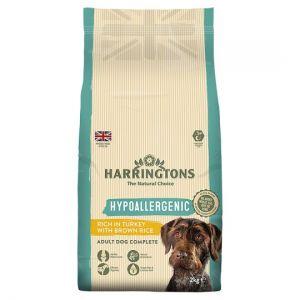 Harringtons Hypoallergenic Turkey Dry Dog Food 2kg