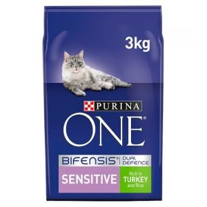Purina One Sensitive Turkey & Rice 3kg