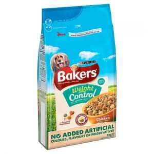 Bakers Complete Chicken Dog Food Weight Control 5kg