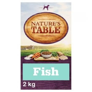 Nature's Table Sustainable Fish Dry Dog Food 2kg