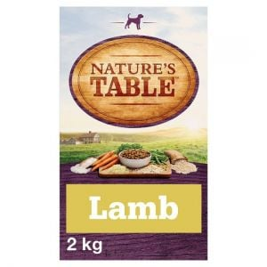 Nature's Table Lamb and Vegetable Adult Dry Dog Food 2kg