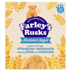 Farley's Rusks Reduced Sugar Original 18'S 300g