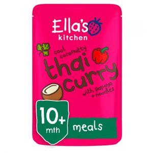 Ella's Kitchen Thai Curry Stage 3 190g