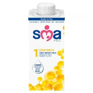 Sma Pro First Infant Milk From Birth 200ml