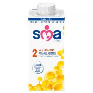 Sma Pro Follow-On Milk 6Mth+ 200ml