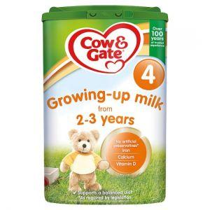 Cow & Gate 4 Growing Up Milk Powder 2+ Years 800g