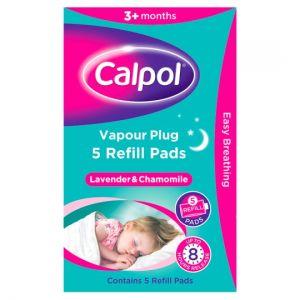 Calpol Vapour Plug Refills 5 Pads