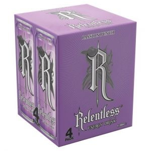 Relentless Passion Punch Energy 4X500ml