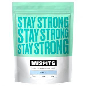 Missfits Nutrition Vanilla Vegan Protein 500g