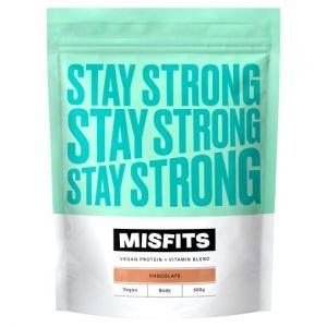 Missfits Nutrition Chocolate Vegan Protein 500g