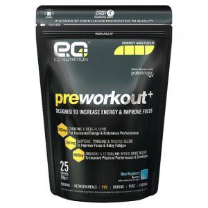 Eq Nutrition Preworkout+ Blue Raspberry 500g