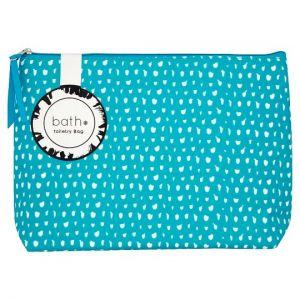Bath Essentials Colour Toiletry Bag