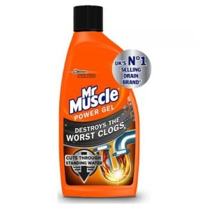 Mr Muscle Kitchen & Bath Drain Gel 500ml