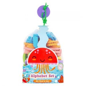 Bathtime Buddies Wet 'N' Stick Alphabet Set