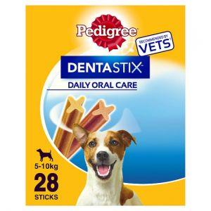 Pedigree Treats Dentastix 28 Dog Chews Small 440g