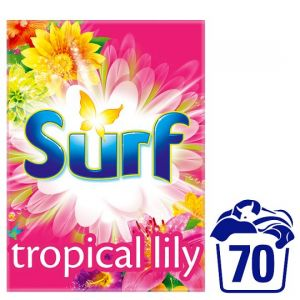 Surf Tropical Lily Washing Powder 70 Washes 4.9kg