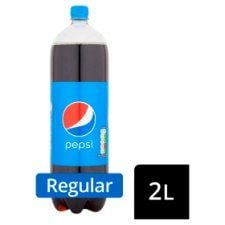Pepsi Regular 2 Litre Bottle