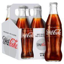 Diet Coke 4X250ml