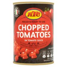 Ktc Chopped Tomatoes 400g