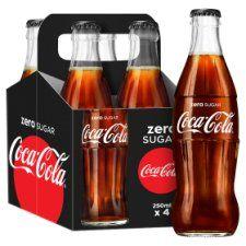 Coke Zero 4X250ml