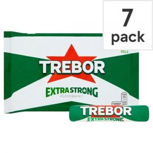 Trebor Extra Strong Mints 7 Rolls 219.8g