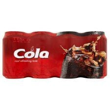 Tesco Cola 8 X 330ml