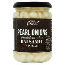 Tesco Finest Pearl Onions In Balsamic 350g