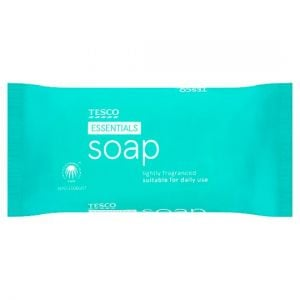 Tesco Essentials Soap 125g
