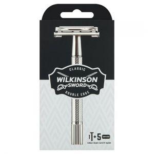 Wilkinson Sword Classic Razor Handle & 5 Blade