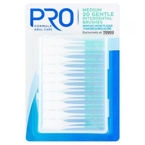 Pro Formula Large Interdental Brushes 20 Pack