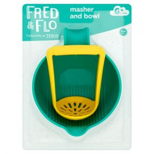 Fred & Flo Baby Food Masher and Bowl