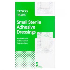 Tesco Health Sterile Dressing Small 5 Pack