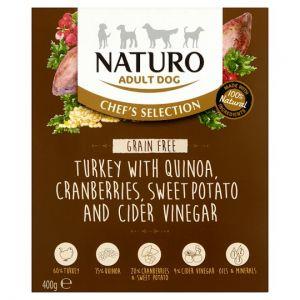 Naturo Grain Free Turkey Adult Dog Food 400g