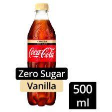 Coca Cola Vanilla Zero 500ml