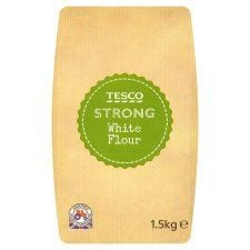 Tesco Strong White Flour 1.5kg