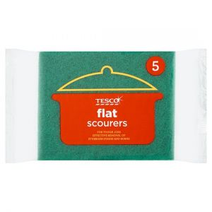 Tesco Pan Scourers 5 Pack