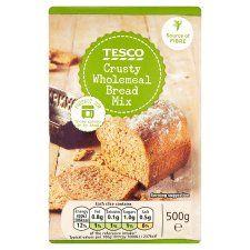 Tesco Crusty Wholemeal Bread Mix 500g