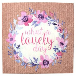 What A Lovely Day 33Cm Napkin 20 Pack