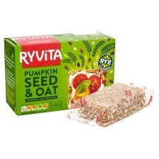 Ryvita Pumpkin & Oats Crisp Bread 4X50g