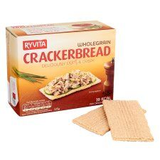 Ryvita Whole Grain Cracker Bread 125g