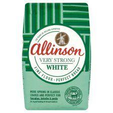 Allinson Bakers Grade Very Strong White Flour 1.5kg