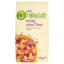 Tesco Organic Strong White Flour 1kg