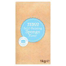 Tesco Self Raising Sponge Flour 1kg