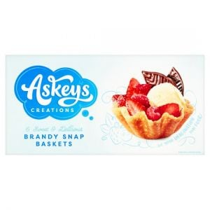 Askeys 6 Brandy Snap Baskets 150g