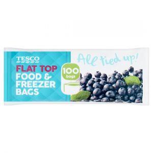 Springforce Flat Top Food Bags 100 Pack