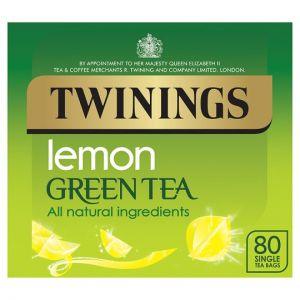 Twinings Green Tea Lemon 80 Tea Bags 160g