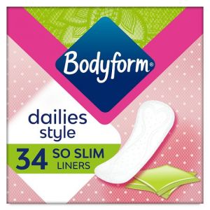 Bodyform So Slim Individually Wrapped and Folded Panty Liners 34 Pack