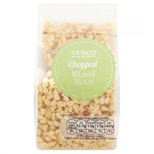 Tesco Chopped Mixed Nuts 100g