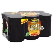 Branston Baked Beans In Tomato Sauce 6 X410g
